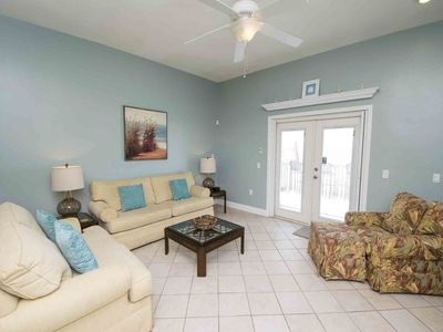 Photo for Direct Beachfront Townhome - Step Onto The Beach!