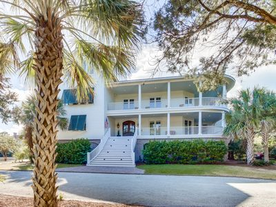 Photo for Beautiful Custom Decorated Eight Bedroom Home in DeBordieu Colony