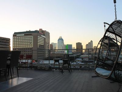Photo for Swanky Townhome+Rooftop | Downtown | 6th Street!