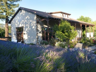 Photo for Gorgeous designer home within WALKING distance to 9 wineries! This is the spot!
