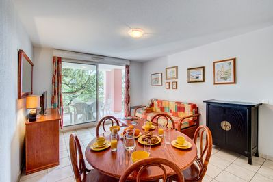 Escape to our lovely apartment in Saint-Aygulf!