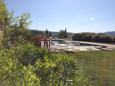 Photo for Mulberries: Bastidon 55m2 for 2/4 people in a quiet view of Luberon