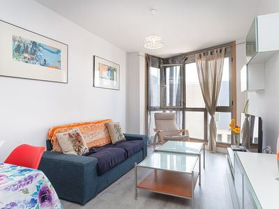 """Photo for Stylish Holiday Apartment """"Piso Valeria"""" Close to the Beach with Mountain View & Wi-Fi;"""