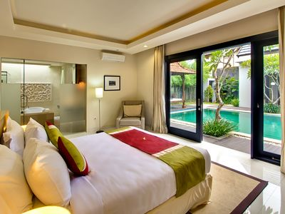 Photo for 1 BR Villa with Pool - Sunset Road - Seminyak Beach