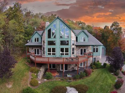 Photo for Breathtaking 4 Bedroom Mountain Chalet offers Luxury Living!