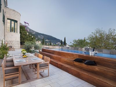 Photo for Villa Paulina Is Located In Dubrovnik's Most Elite Residential Neighbourhood