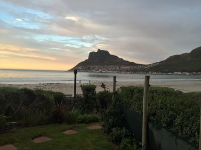 Photo for Right On the Beach Hout Bay