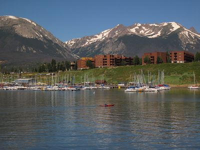 Photo for Condo in the Heart Of Dillon on the Rec Path, Walk to Lake Dillon, Marina, Farmer's Market, Parks