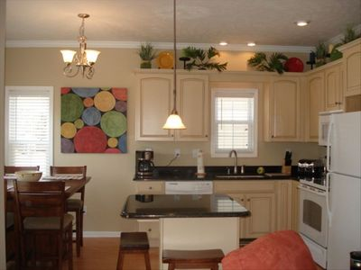 Spacious kitchen with everything you need for your vacation.