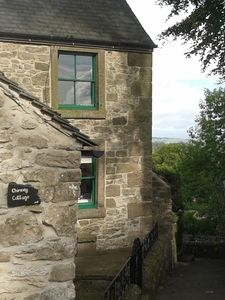 Chimney Cottage, nestled in the village with wonderful views