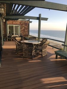 Deck Overlooking the Ocean