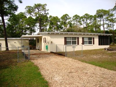 Photo for Private dock in a quiet neighborhood! Well maintained, single-level home!