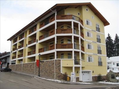 Our condo is one of 16 units in the River Park building in downtown Leavenworth.