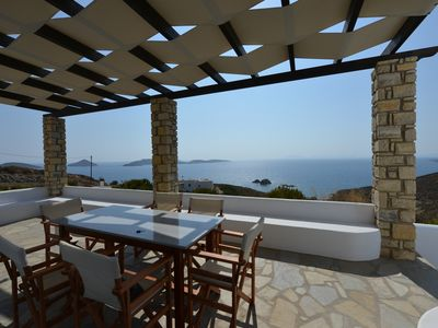 Photo for detached villa with beautiful views and beach below