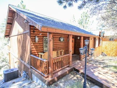 Photo for Snowy Evening Lodge - FREE Kayak/Bike Rental! 3BR/2BA/ WiFi/Forest Views