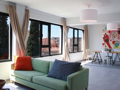 Photo for Modern apt, next to Plaka. Roof top terrace with amazing views of the Acropolis.