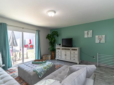 Photo for Ground floor condo steps away from the beach-SNOW BIRDS WELCOME