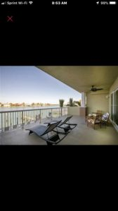 3 bedroom waterfront condo Clearwater Beach  .Optional boat dock separate rental