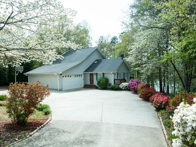 Photo for Lake Hartwell lakefront home near Clemson University baseball and other events