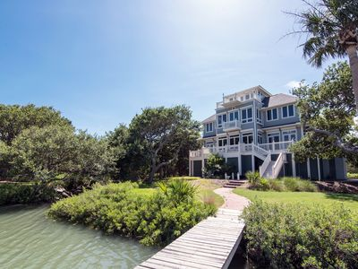 Photo for Moonrise Point - Ocean Views & Private Dock on Scott Creek; Pet Friendly