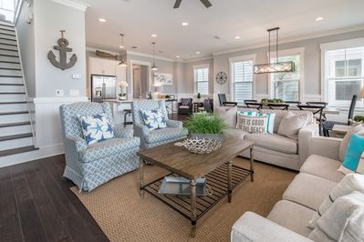 Open Floor Plan to Stay Connected!