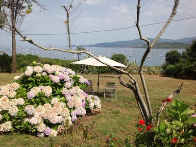 Photo for villa by the sea on 1 ha of private land on a quiet bay