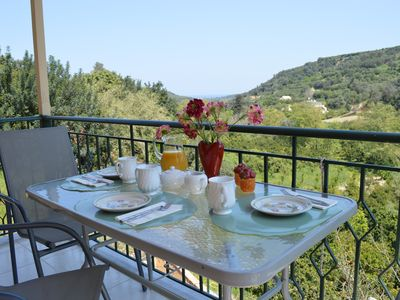 Photo for Villa The Majestic Landscape, 5 Minutes From Platanias