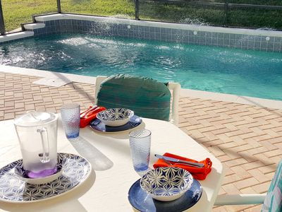 Photo for Key 2 Indian Creek Pool Home, 5 BR, 4 Bath,New Beds 10mins to Disney