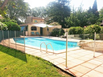 Photo for Self catering air conditioning gite with pool