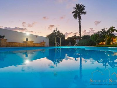 Photo for Stylish pool among the garden / Only a few mins by car from the sandy beach-groceries-supermarket-ba