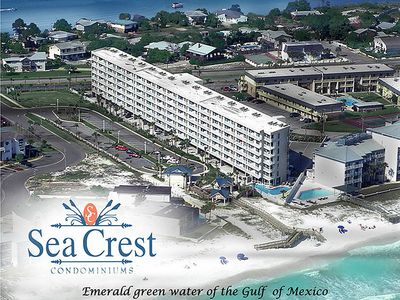 Photo for SeaCrest 714 - Beautiful sunsets and views of the Inter-coastal Waterway and the Gulf of Mexico