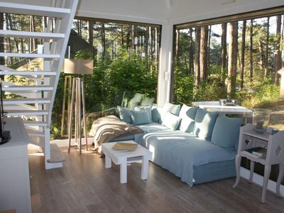 Photo for Independent Villa 2 bedrooms and mezzanine in a pine forest - Quiet