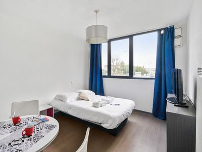 Photo for Charming studio at the heart of Bordeaux Campus, in Talence - Welkeys