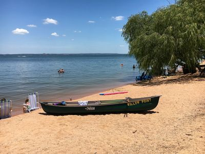 Photo for Lakefront Log Cabin 7 on the Beautiful Shores of Lake Buchanan