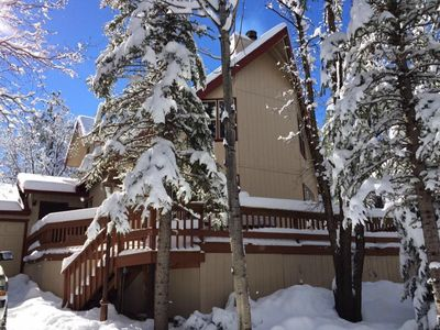 Photo for Great Snow in the Pines!  Bring everyone!!  Beautiful Spacious 5 Bedrooms