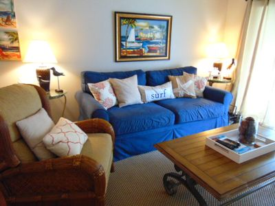 Photo for S3 Ocean Walk Resort, Three bedroom, two bath downstairs unit with WIFI.  Freshly painted Fall of 2015.  Close to tennis courts and back pool.