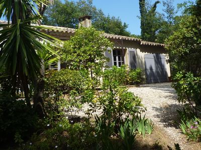 Photo for CHARMING VILLA & Quiet -Presqu'île St Tropez- 80m from the BEACH GIGARO