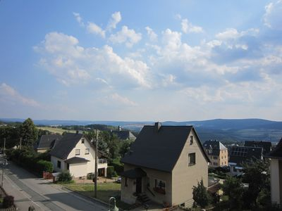 Photo for Rest and relaxation on the balcony of the Ore Mountains