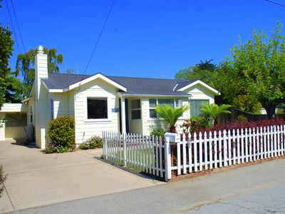 Photo for Sunny Cottage by the Sea! 10 min walk to Capitola! Hot tub, BBQ & Game Room!