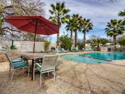 Photo for Lakeview villa w/ a private boat slip, shared pool, & hot tub!