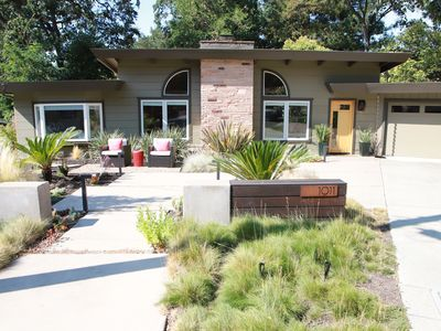 Photo for Contemporary Creekside Retreat, an Outdoor Oasis