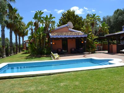 Photo for Villa with private pool and gardens