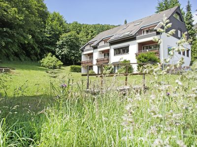 Photo for Group house for 21 or 32 people in the Harz region of the Sauerland with garden at the forest