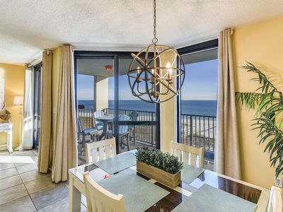 Photo for Beachfront Escape with Breathtaking Views of Ocean   My Beach Getaways
