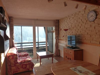 Photo for T2 redone, 7 beds + cot, at the foot of the slopes WIFI