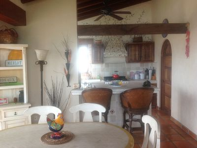 Photo for Penthouse in Selva  Romantic Two Bedroom Two blocks from the Beach!!!