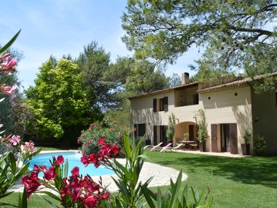 Photo for BASTIDE OF THE ROQUEMALIERE HOUSE LUBERON VAUCLUSE