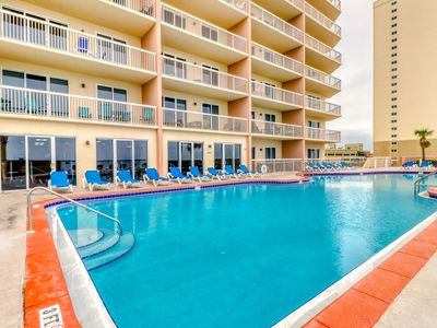 Photo for Beach-chic, waterfront condo w/ stunning Gulf views, shared pools, & gym