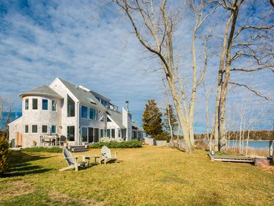 Photo for Stunning Sag Harbor Waterfront Home -  Plus All The Fun!