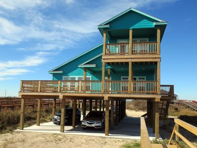 "Photo for ""As Good As It Gets"" Beautiful Beach Front House!"